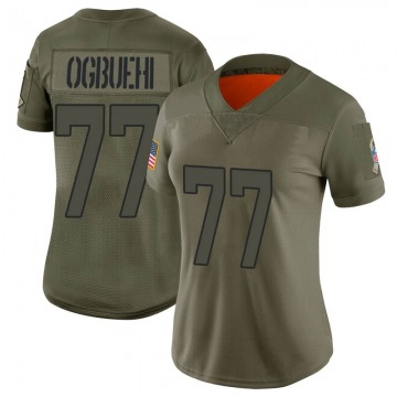 Women's Jacksonville Jaguars Cedric Ogbuehi Camo Limited 2019 Salute to Service Jersey By Nike