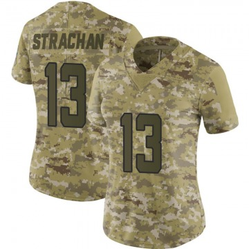 Women's Jacksonville Jaguars Connor Strachan Camo Limited 2018 Salute to Service Jersey By Nike