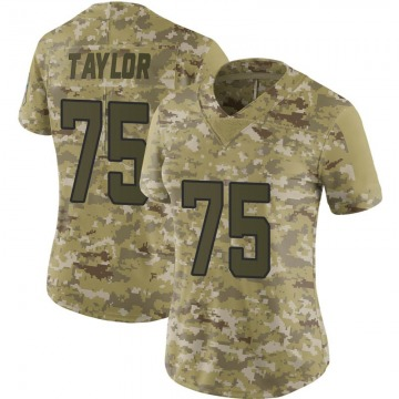 Women's Jacksonville Jaguars Jawaan Taylor Camo Limited 2018 Salute to Service Jersey By Nike