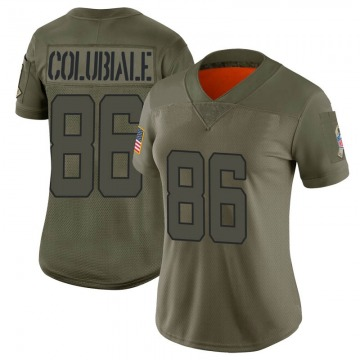 Women's Jacksonville Jaguars Michael Colubiale Camo Limited 2019 Salute to Service Jersey By Nike