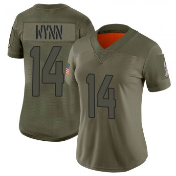 Women's Jacksonville Jaguars Shane Wynn Camo Limited 2019 Salute to Service Jersey By Nike