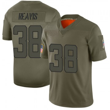 Youth Jacksonville Jaguars C.J. Reavis Camo Limited 2019 Salute to Service Jersey By Nike