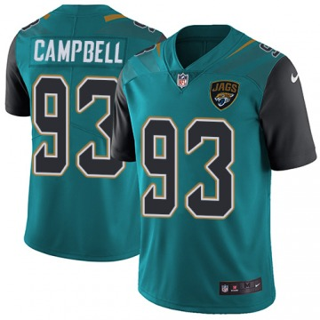 Youth Jacksonville Jaguars Calais Campbell Green Limited Teal Team Color Jersey By Nike