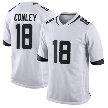 Youth Jacksonville Jaguars Chris Conley White Game Jersey By Nike